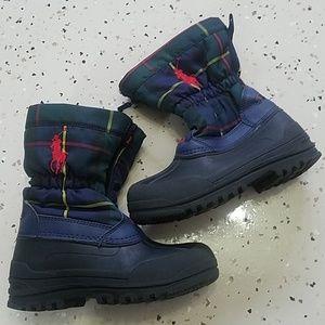 Polo Ralph Lauren size us 1 boots boy